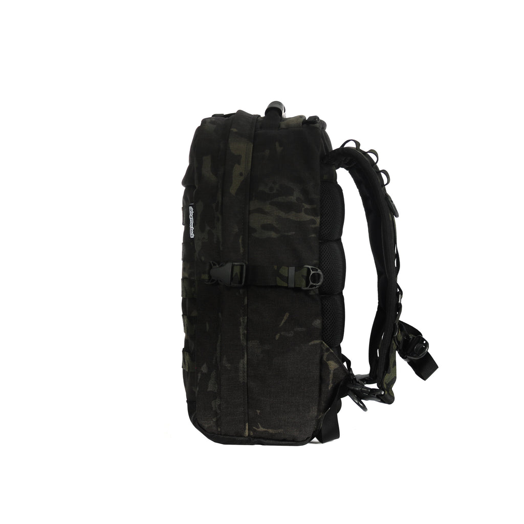 skingrowsback MIDPAK 23 litre backpack multicam black right