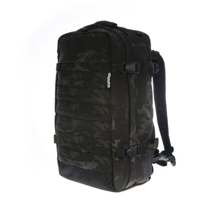 skingrowsback PAK30 30 litre backpack Multicam Black camo