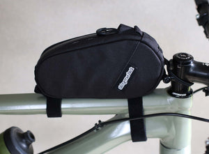 skingrowsback amigo top tube bag gravel cycling adventure bike