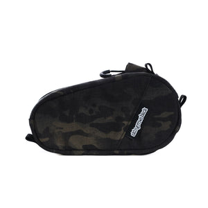 skingrowsback amigo top tube bag gravel cycling adventure bike multicam black camo