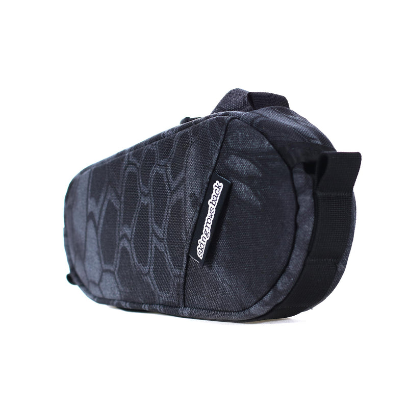 skingrowsback amigo top tube bag typhon
