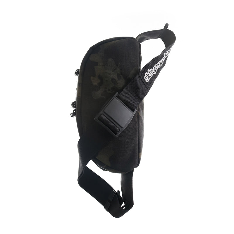 skingrowsback b double bum bag MultiCam Black black camo