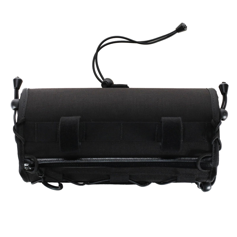 skingrowsback lunch box handlebar bag cycling black