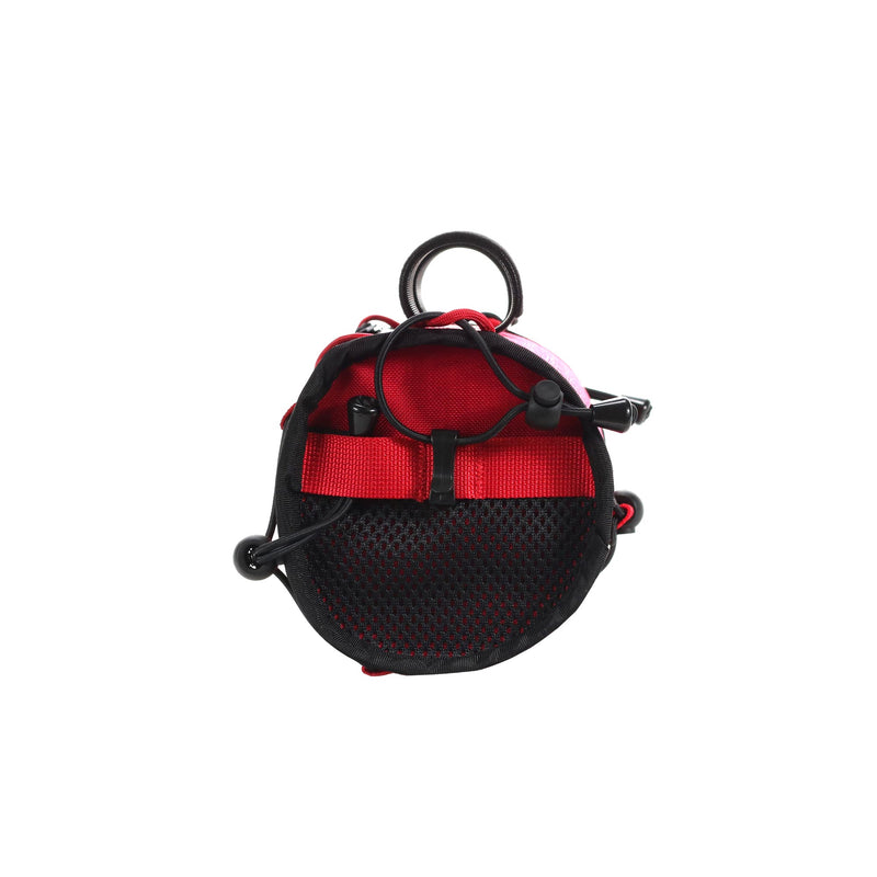 skingrowsback lunch box handlebar bag gravel bike imperial red