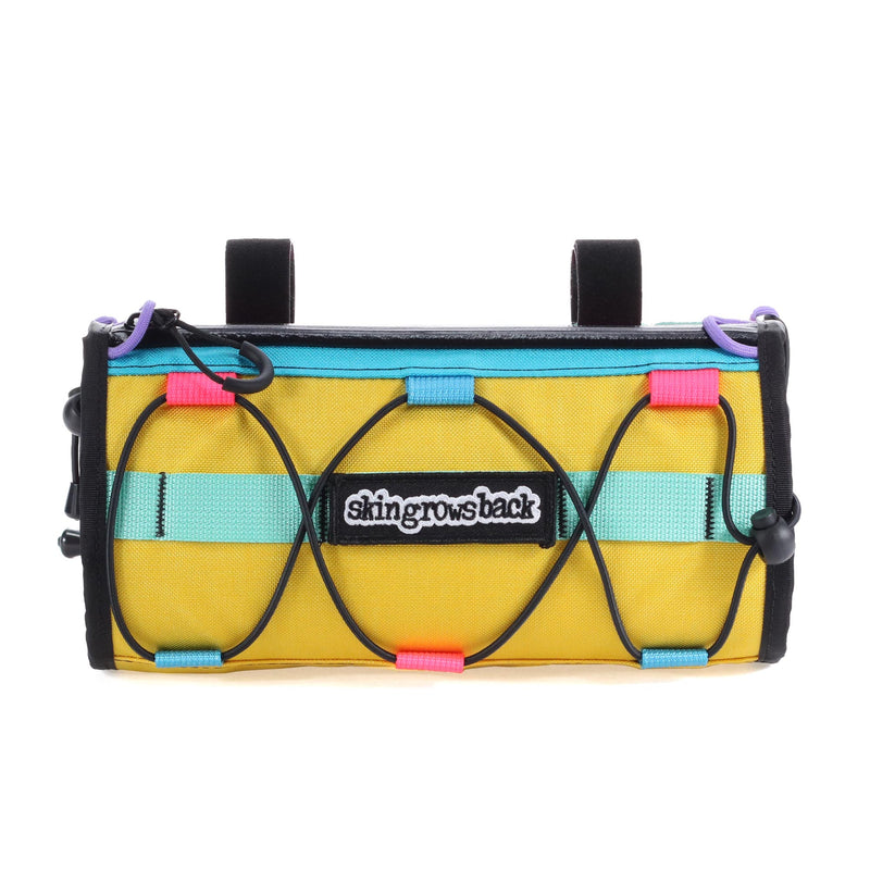 skingrowsback lunch box handlebar bag cycling gravel bike kawaii