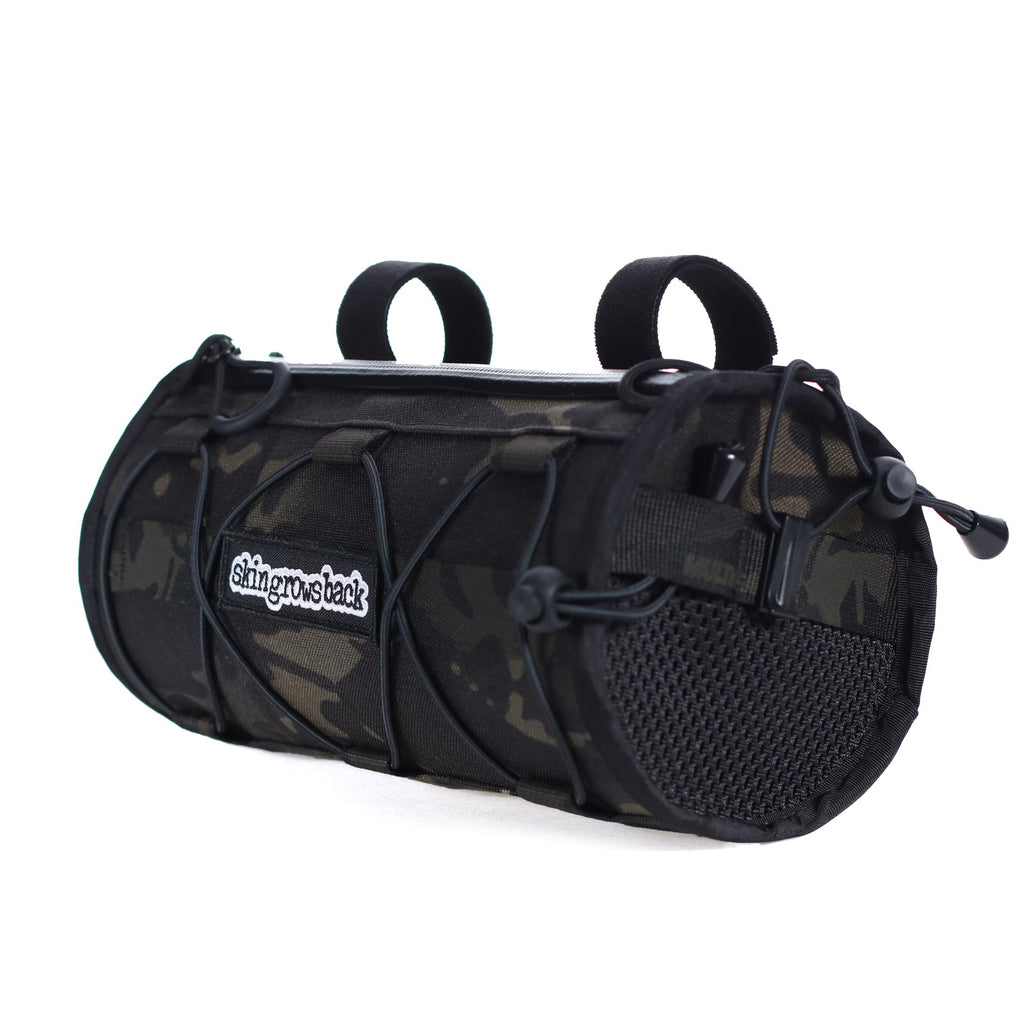 skingrowsback MultiCam Black cycling handlebar bag