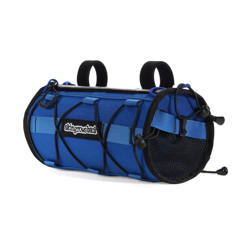 skingrowsback lunchbox handlebar bag v2 gravel bike royal blue