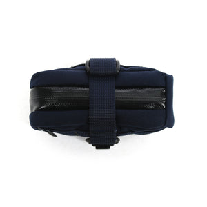 skingrowsback plan b cycling saddle bag navy side