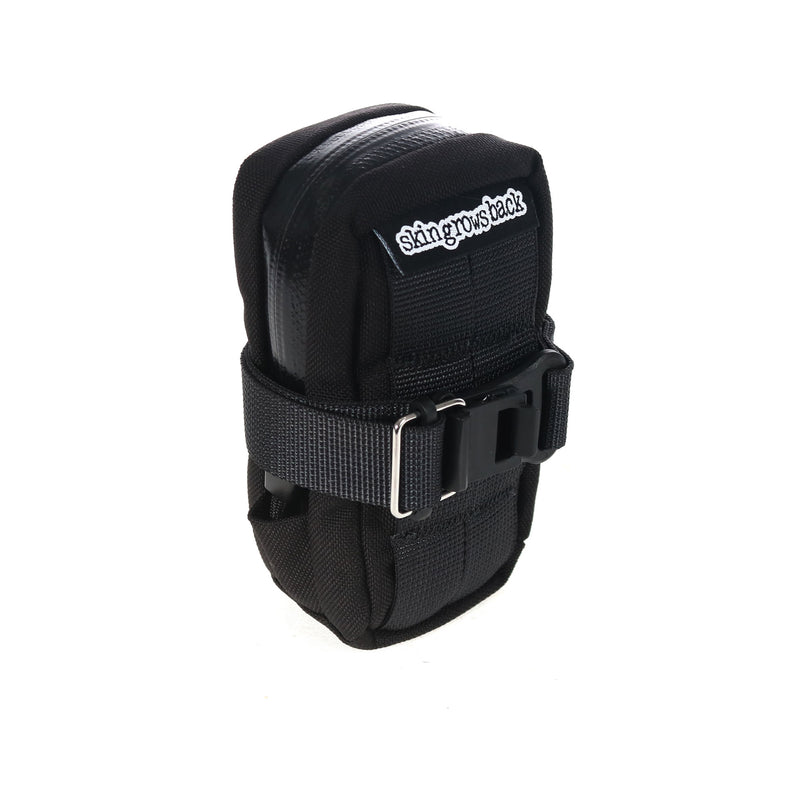 skingrowsback Plan B cycling saddle bag Black