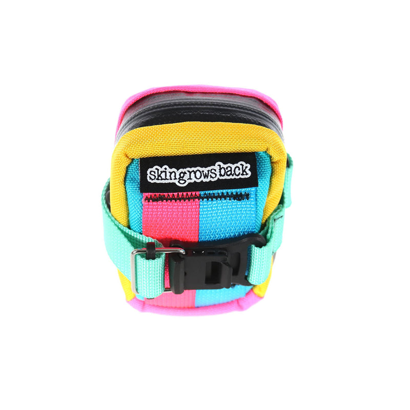 skingrowsback Plan B Micron cycling saddle bag kawaii rear view