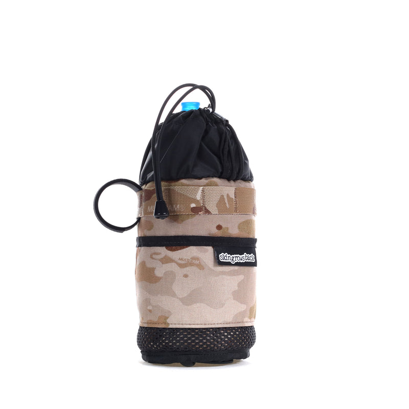 skingrowsback snack stack stem feed bag adventure gravel bike multicam arid camo