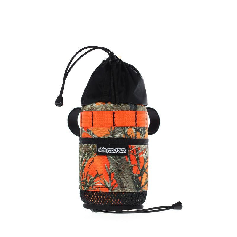 skingrowsback snack stack stem bag adventure gravel bike blaze camo