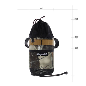 skingrowsback snack stack stem bag adventure gravel bike forest camo
