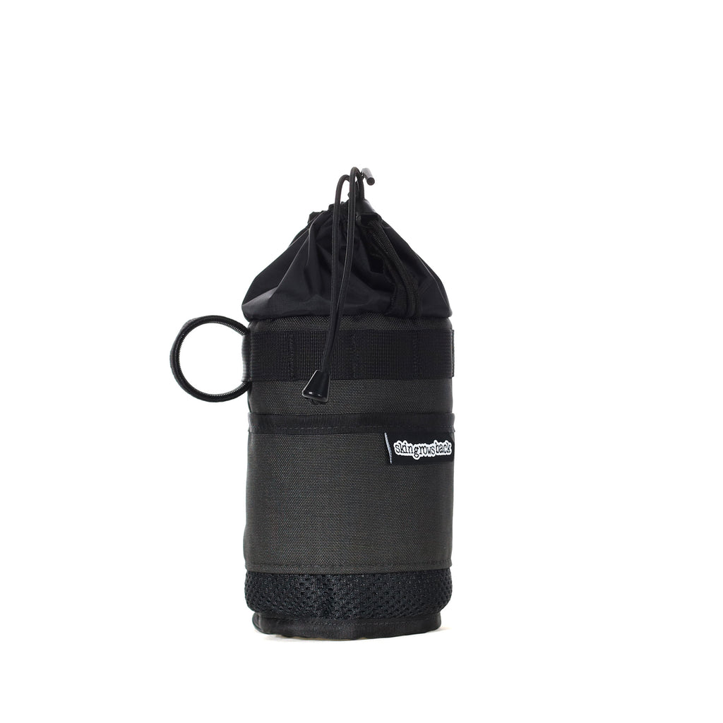 skingrowsback snack stack stem bag adventure gravel bike grey
