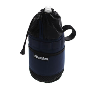 skingrowsback snack stack stem bag adventure gravel bike navy