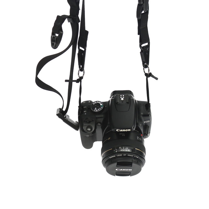 skingrowsback 3Point Cycling Camera Strap Black Made in Australia