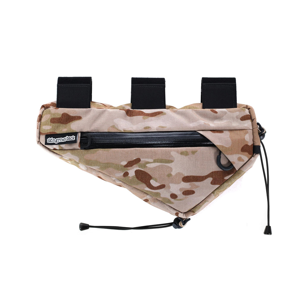 skingrowsback wedge frame bag MultiCam Arid Camo