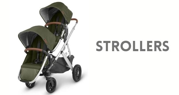 This collection includes our best quality strollers. You'll find UppaBaby Vista V2, Cruz V2, Minu, Baby Jogger City Select Lux, Nuna Mixx, Maxi Cosi Dana, Lila & Zelia, BOB, Cybex Gazelle S and the Veer Cruiser Wagon.