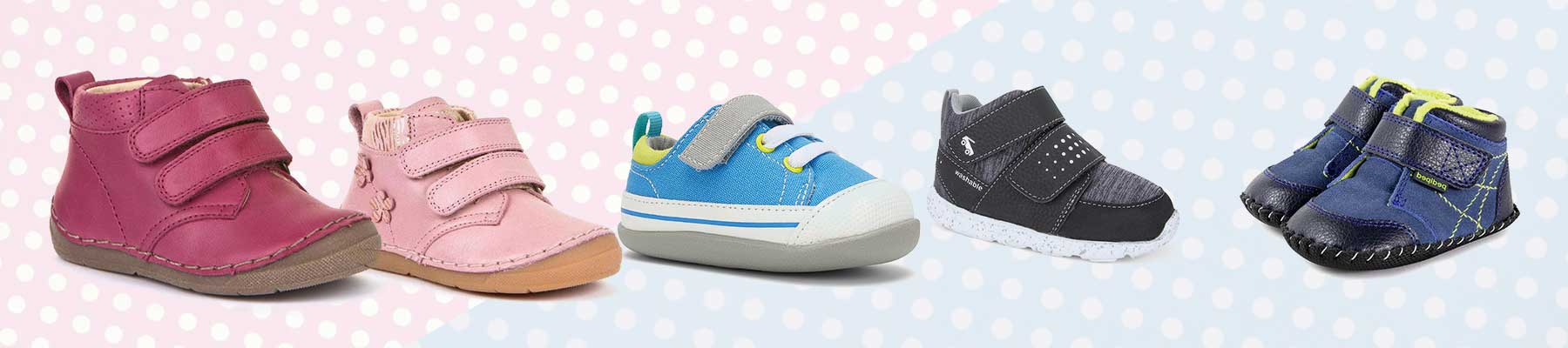 First Walking Shoes for Babies