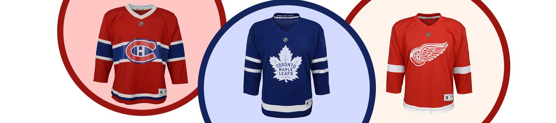 NHL Team Jerseys for Infants and Toddlers