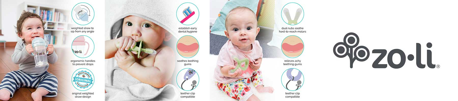 Zoli Products for Babies & Kids