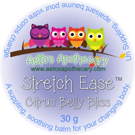Aeto's Apothecary Stretch Ease | Citrus Belly Bliss 30 g