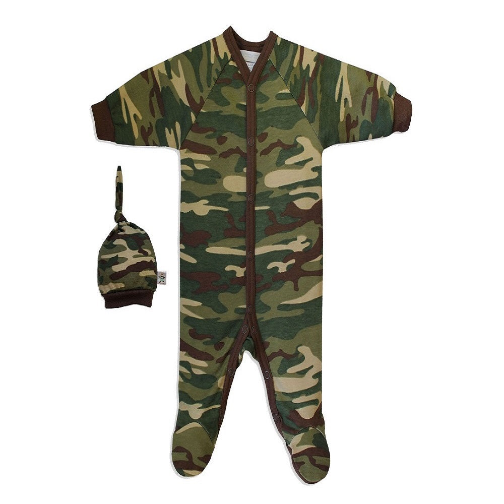 ITTY BITTY CAMO SLEEPER SET