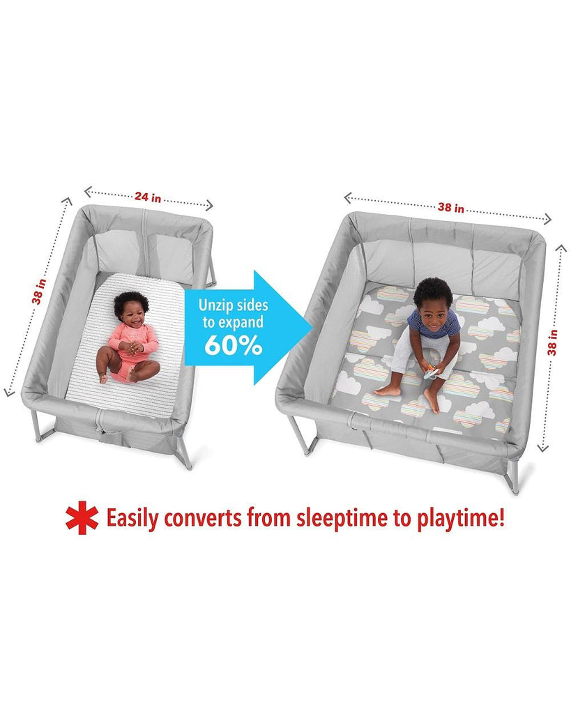 Skip Hop Play To Night Expanding Travel Crib