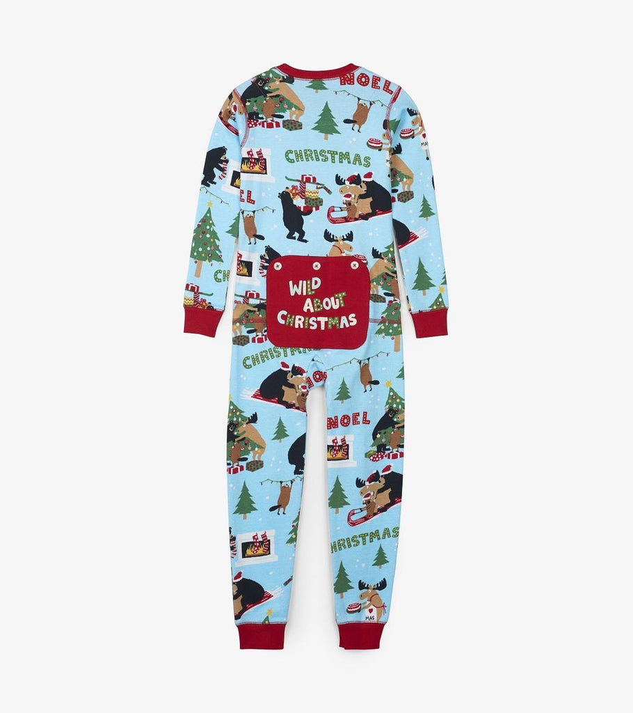Lbh Union Suit Kids - Wild About Xmas
