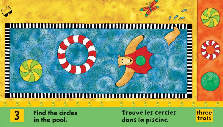 BAREFOOT BOOKS BILINGUAL FRENCH/ENGLISH BOOK - OURS DANS