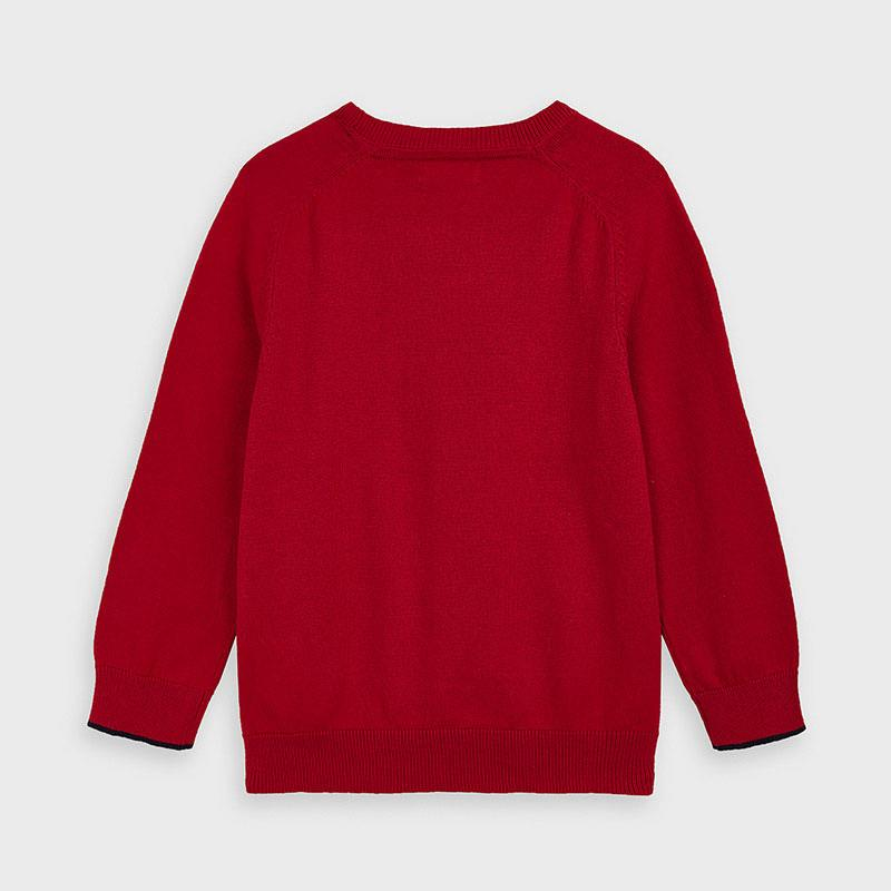 Mayoral Basic Cotton Jumper for Boy - Red
