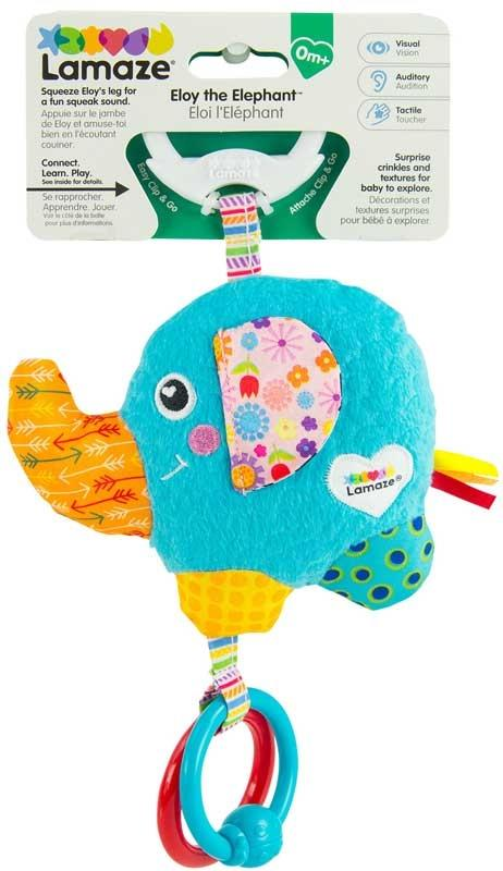 LAMAZE ELOY THE ELEPHANT ACTIVITY TOY