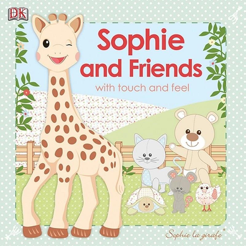 Sophie & Friends With Touch And Feel (Board Book Ages 0+)