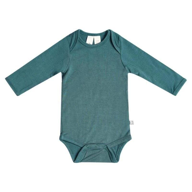 KYTE Long Sleeve Bodysuit | Emerald