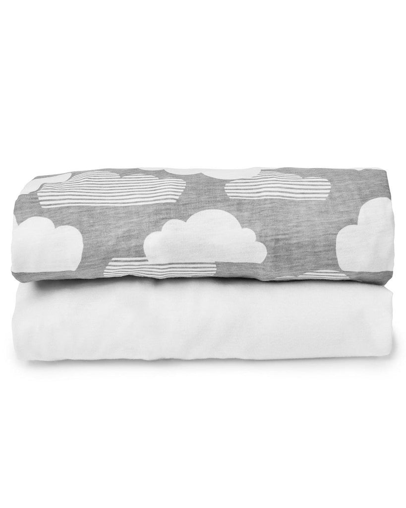 SKIP HOP TRAVEL CRIB SHEETS - 2 PACK
