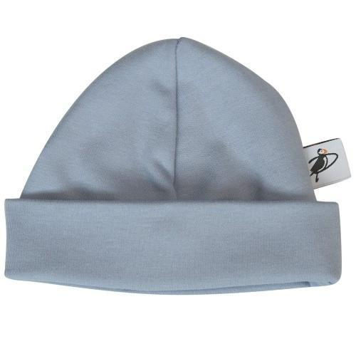 PUFFIN GEAR ORGANIC COTTON BEANIE - DENIM