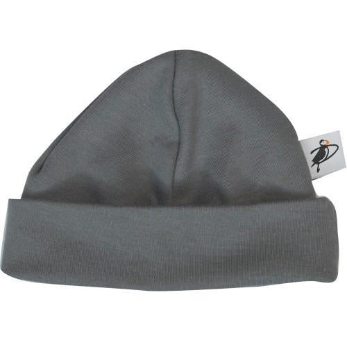 PUFFIN GEAR ORGANIC COTTON BEANIE - GREY