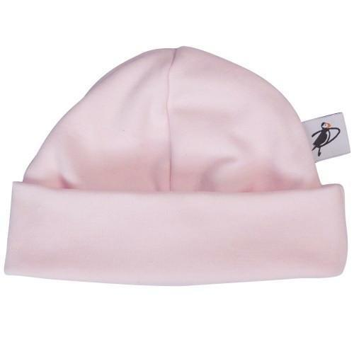 PUFFIN GEAR ORGANIC COTTON BEANIE - PINK