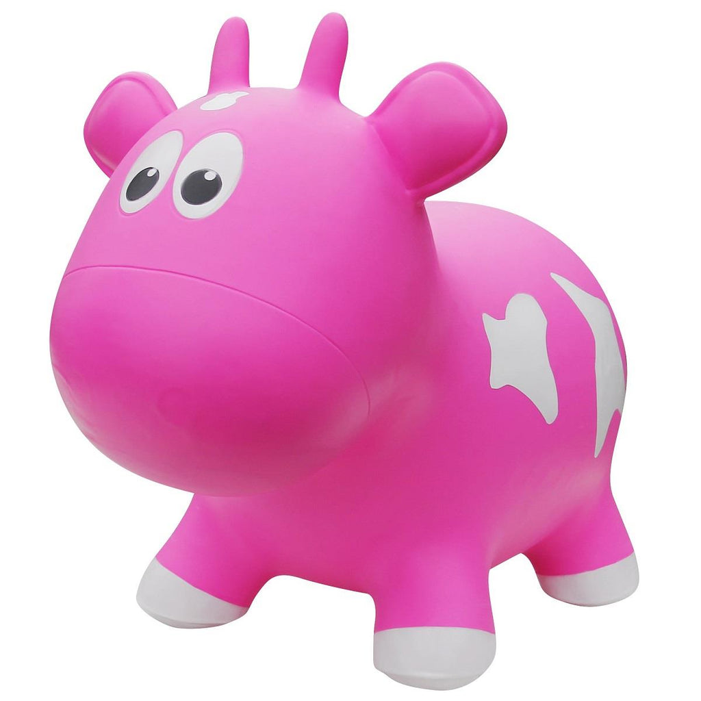 NEXT GENERATION FARM HOPPERS COW - PINK
