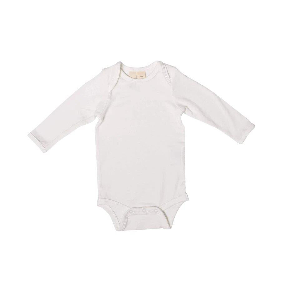 KYTE LONG SLEEVE BODYSUIT - CLOUD