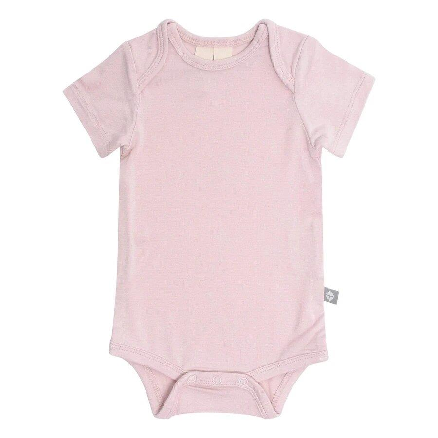 Kyte Small Sleeve Bodysuit Blush | Jump! The BABY Store