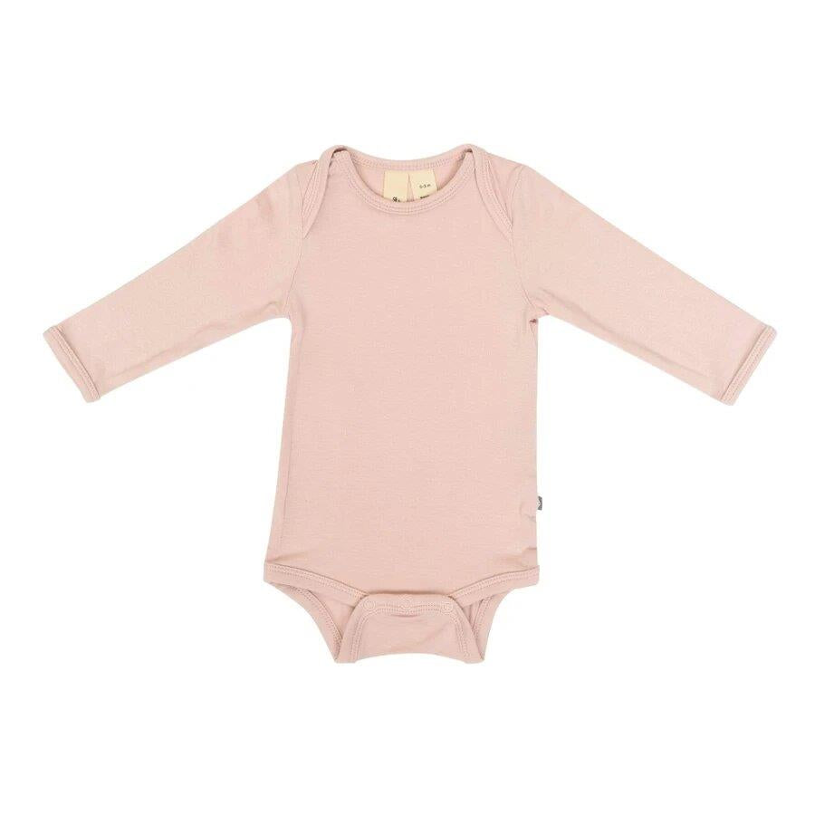 Kyte Long Sleeve Bodysuit Blush | Jump! The BABY Store