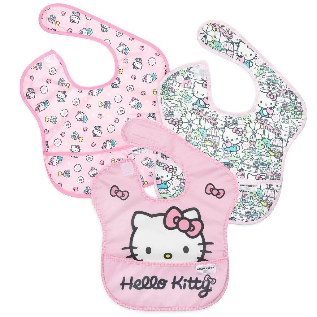 Bumkins 3PK Superbib Hello Kitty | Jump! The BABY Store