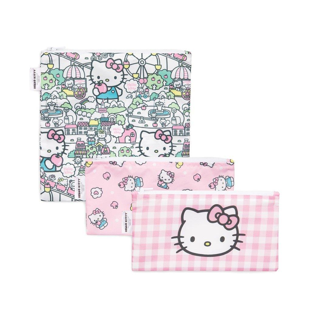 Bumkins 3PK Snack Bags Hello Kitty | Jump! The BABY Store