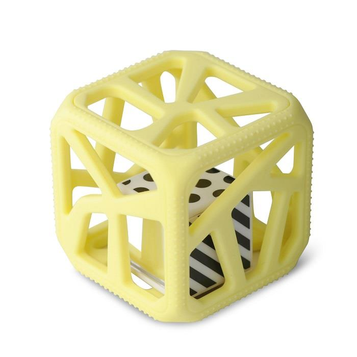 Malarkey Chew Cube - Yellow | Jump! The BABY Store