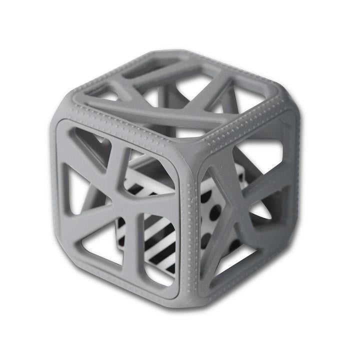 Malarkey Chew Cube - Grey | Jump! The BABY Store