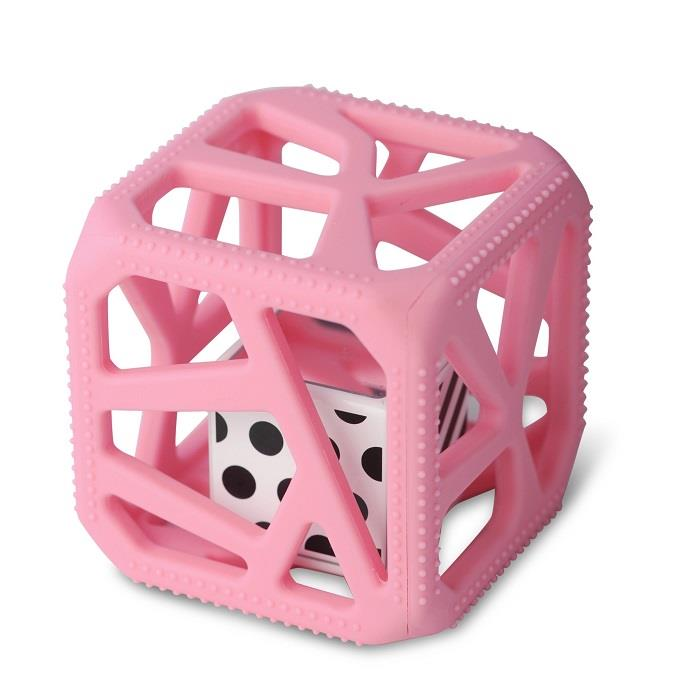 Malarkey Chew Cube - Pink | Jump! The BABY Store