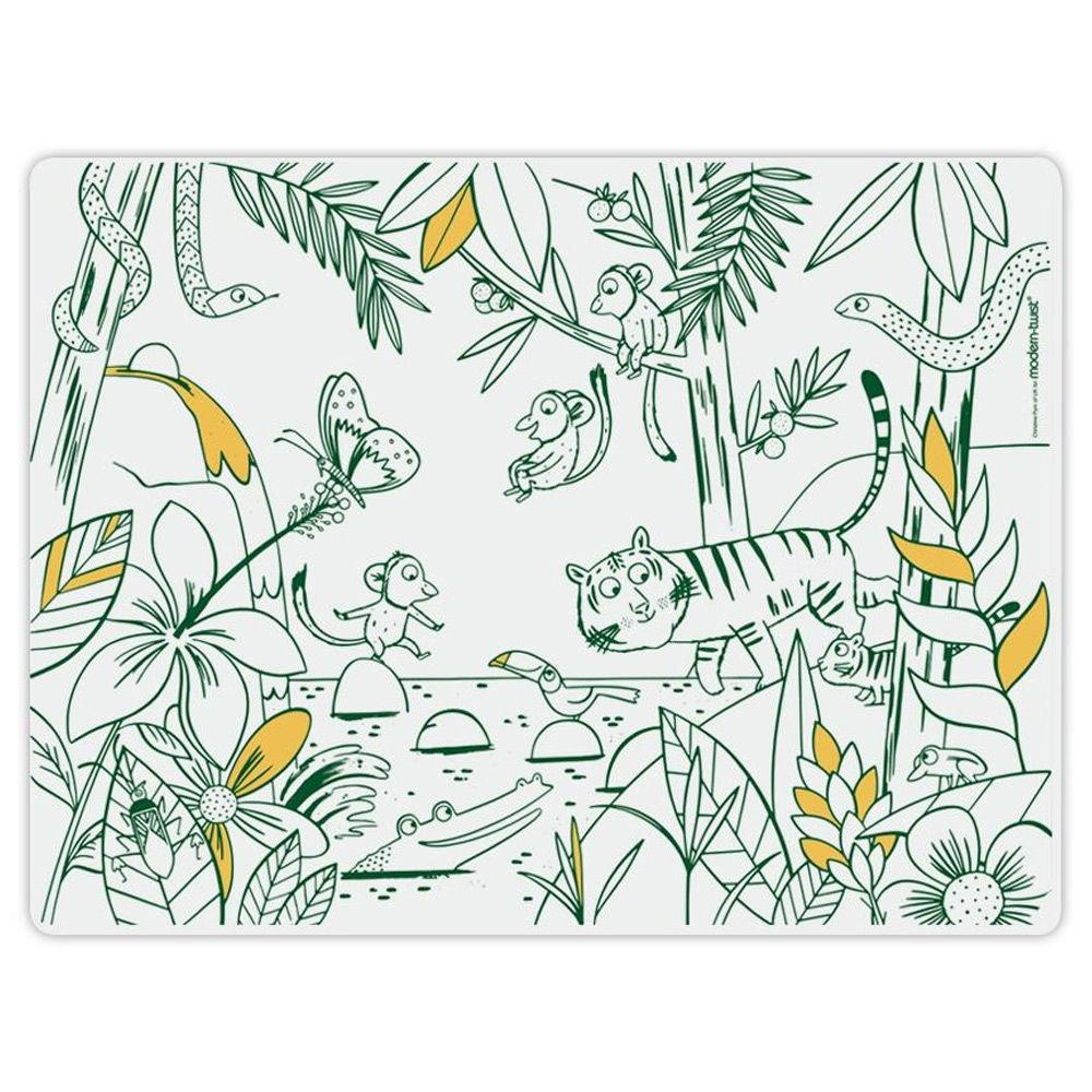MODERN TWIST MARK MAT - JUNGLE