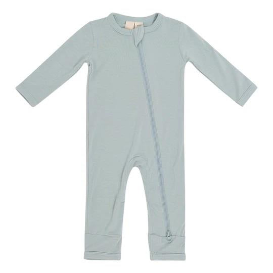 KYTE ZIPPERED ROMPER - SAGE