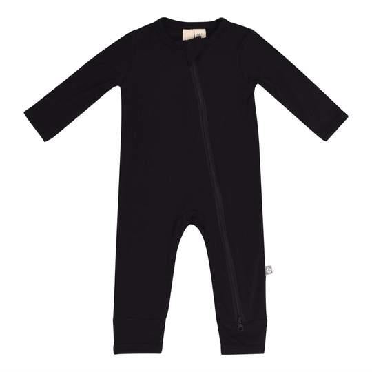 Kyte Solid Zip Romper - Midnight | Jump! The BABY Store